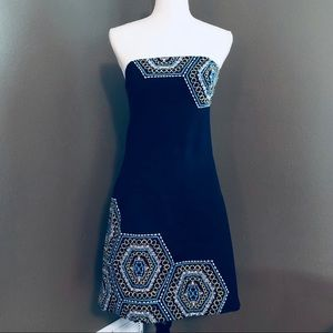 Lilly Pulitzer Navy Bowen Honeycomb Dress